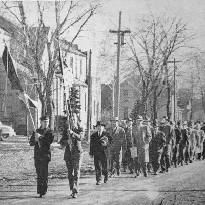 Processional for Ground Breaking Ceremony for Memorial Building c1949
